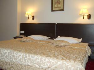 Ein Bett oder Betten in einem Zimmer der Unterkunft Hotel Esplanada