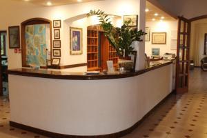 Hall o reception di Hotel La Filadelfia