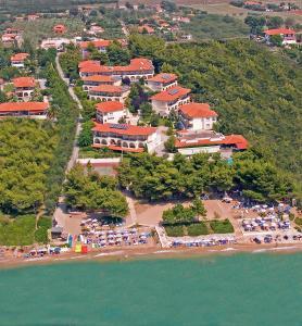 Portes Beach Hotel с высоты птичьего полета