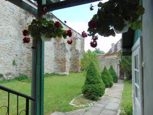 Een tuin van Pensiune Cetate