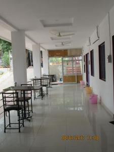 A restaurant or other place to eat at Hotel Vrindavan