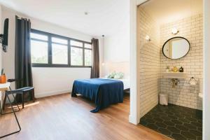 Cama ou camas em um quarto em Magatzem 128