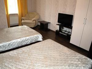 Кровать или кровати в номере Motel Zebra