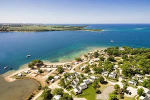 A bird's-eye view of Mobile Homes - FKK Nudist Camping Solaris