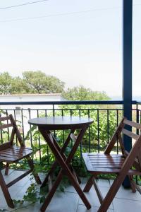 A balcony or terrace at Mirsini Apartments