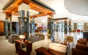 The lobby or reception area at Remisens Premium Hotel METROPOL