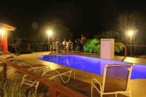 The swimming pool at or near Pousada Kokopelli