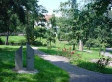 Ein Garten an der Unterkunft Landhaus Siebe