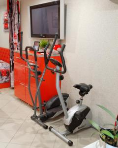 Фитнес-центр и/или тренажеры в Red Bus Apartment na Mira