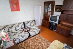 Гостиная зона в Apartment Lenina 18