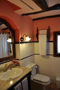 A bathroom at Hotel la Casa del Abuelo