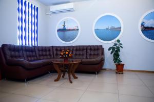 Гостиная зона в Мини-отель Бриг