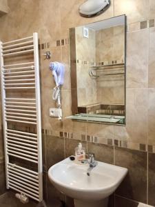 Ванная комната в Penzion U Golema