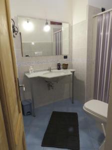 A bathroom at Orgosolo B&B Sardegna