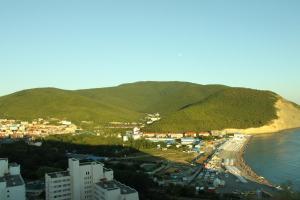 A bird's-eye view of Apartment on Lukomorya 1