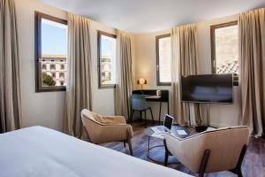 Część wypoczynkowa w obiekcie Hotel Sant Jaume