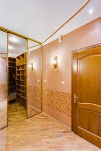 Ванная комната в Апартаменты Делюкс в Перово