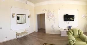 Гостиная зона в Центр отдыха Баньки
