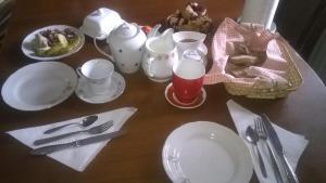 Možnosti raňajok pre hostí v ubytovaní Apartment Žvan