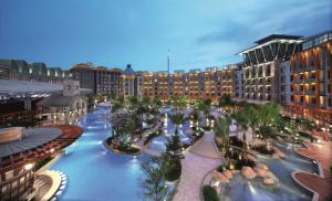 A view of the pool at Resorts World Sentosa - Hard Rock Hotel (SG Clean) or nearby