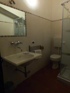 A bathroom at La Locanda sul Lago