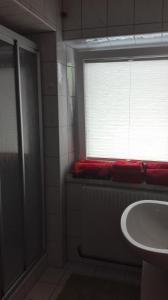 Ein Badezimmer in der Unterkunft Kleinnaglerhof