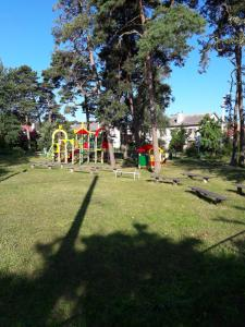 Children's play area at House on Veteranov