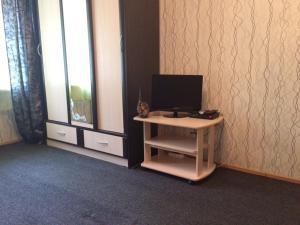 Телевизор и/или развлекательный центр в 1-room Apartment near Kristal