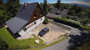 Widok z lotu ptaka na obiekt Apartamenty Szklarska