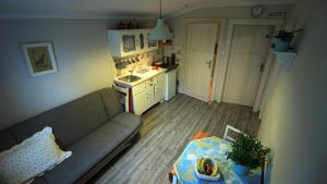 Kuchnia lub aneks kuchenny w obiekcie Apartamenty Szklarska