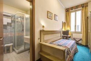 Cama ou camas em um quarto em Hotel De Lanzi