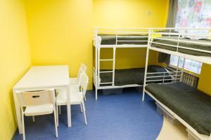 Двухъярусная кровать или двухъярусные кровати в номере ХостеLкам24