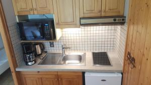 Kuchyň nebo kuchyňský kout v ubytování Le Marquis