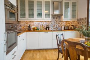 Küche/Küchenzeile in der Unterkunft GO Apartments