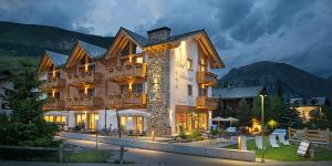 Hotel Silvestri v zimě