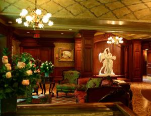 The lobby or reception area at Prince of Wales