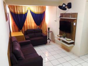 Uma área de estar em Residencial Tapajós