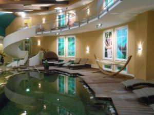 The swimming pool at or near Hotel am Haslinger Hof