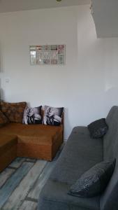 A seating area at Studio Grunwaldzka