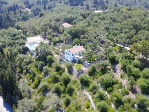 A bird's-eye view of Joanna's Cottage
