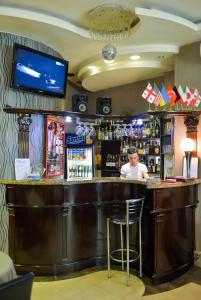 Лаундж или бар в Hotel Old Town