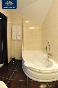 Łazienka w obiekcie Hotel Villa Bolestraszyce