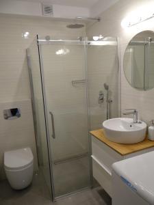 Łazienka w obiekcie Apartament N-Star