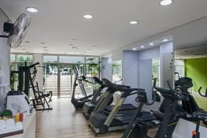 The fitness centre and/or fitness facilities at Wyndham Sao Paulo Paulista