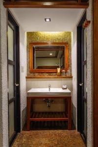 A bathroom at The Strand Boracay