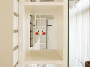 The floor plan of Refillnow! Hostel