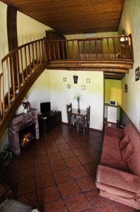 Zona de estar de Hotel Galaroza Sierra