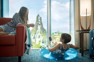 Gäste, die in der Unterkunft Universal's Cabana Bay Beach Resort übernachten