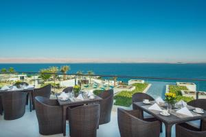 A restaurant or other place to eat at Hilton Dead Sea Resort & Spa