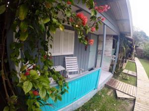 A piscina localizada em Pousada Canto da Galheta ou nos arredores